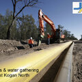 Arrow Energy poly gas gathering pipeline 4