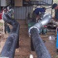 irrigation poly filter pipework