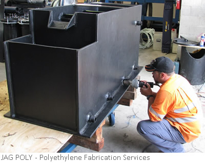 JAG POLY Polyethylene Fabrication Services