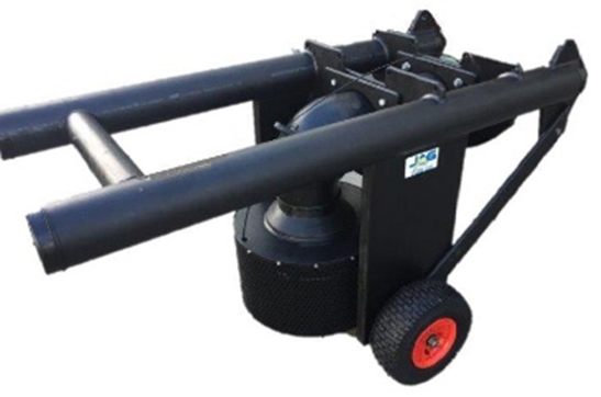 Wheeled liner safe footvalve float