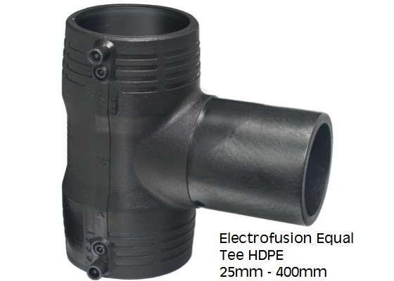 Electrofusion Equat Tee HDPE 25mm-400mm